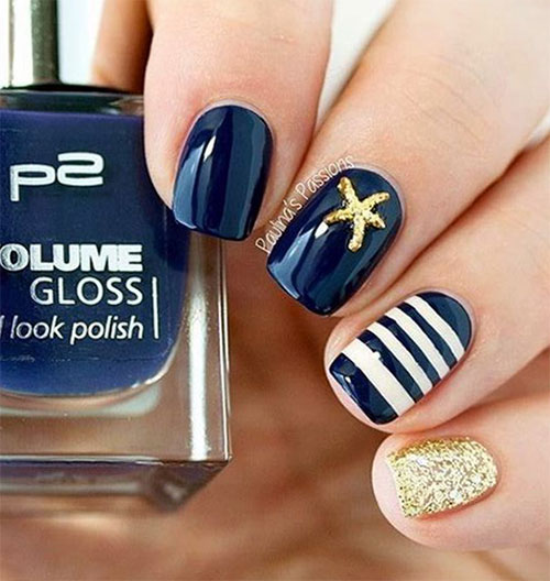 10-Summer-Blue-Nail-Art-Designs-Ideas-2016-7