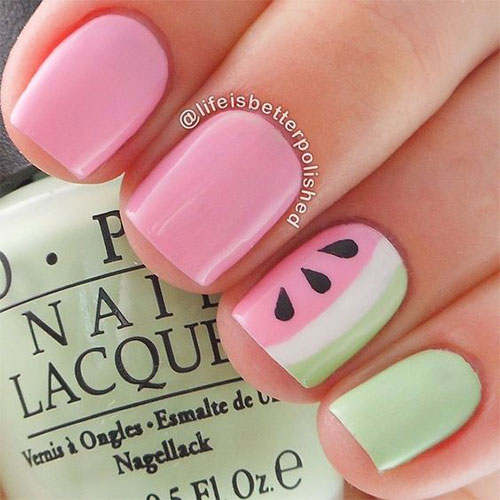 10-Summer-Pink-Nail-Art-Designs-Ideas-2016-5
