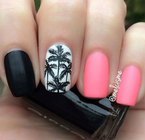 Nails Summer 2016: 10+ Summer Pink Nail Art Designs & Ideas 2016