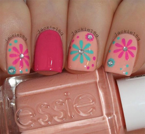 10-Summer-Pink-Nail-Art-Designs-Ideas-2016-9