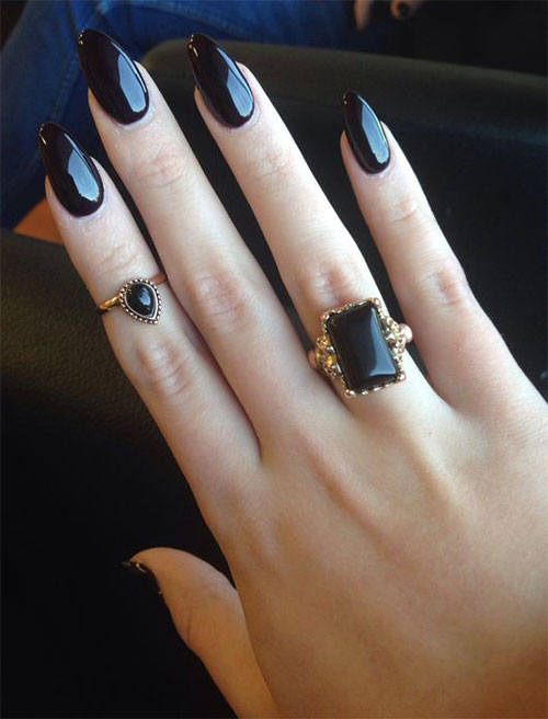 15 black gel nail art designs ideas 2016 fabulous nail art designs