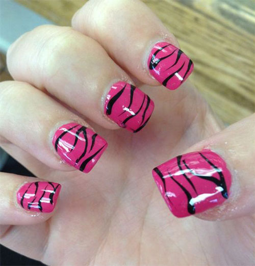 15-Black-Pink-Gel-Nail-Art-Designs-Ideas-2016-15