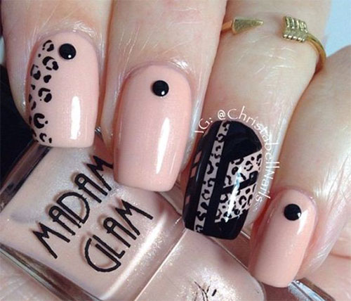 15-Black-Pink-Gel-Nail-Art-Designs-Ideas-2016-7
