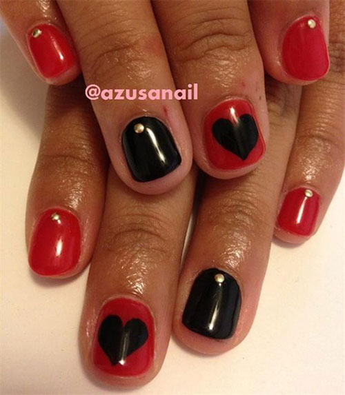 15-Black-Red-Gel-Nail-Art-Designs-Ideas-2016-6