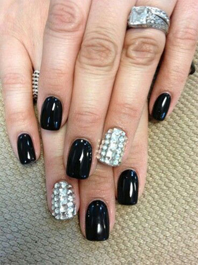 15-Black-Silver-Gel-Nail-Art-Designs-Ideas-2016-3