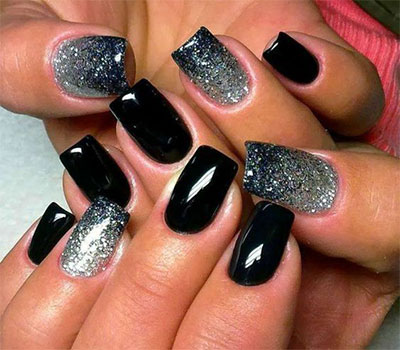 15-Black-Silver-Gel-Nail-Art-Designs-Ideas-2016-5