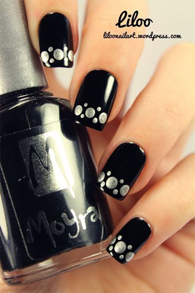 15-Black-Silver-Gel-Nail-Art-Designs-Ideas-2016-7