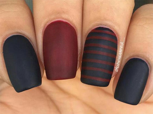 15-Matte-Black-Gel-Nail-Art-Designs-Ideas-Trends-2016-10