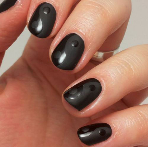 15-Matte-Black-Gel-Nail-Art-Designs-Ideas-Trends-2016-3