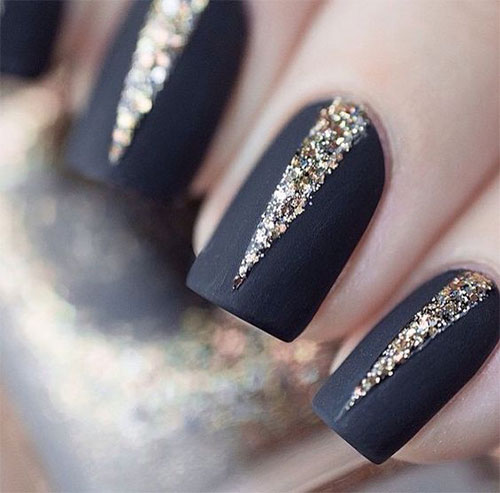 15-Matte-Black-Gel-Nail-Art-Designs-Ideas-Trends-2016-4