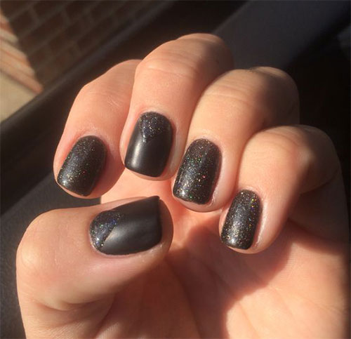 15-Matte-Black-Gel-Nail-Art-Designs-Ideas-Trends-2016-7