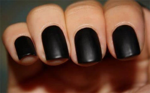 15-Matte-Black-Gel-Nail-Art-Designs-Ideas-Trends-2016-8