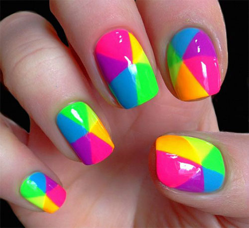 20-Easy-Cute-Summer-Nail-Art-Designs-Ideas- - 20 Easy & Cute Summer Nail Art Designs & Ideas 2016 Summer Nails
