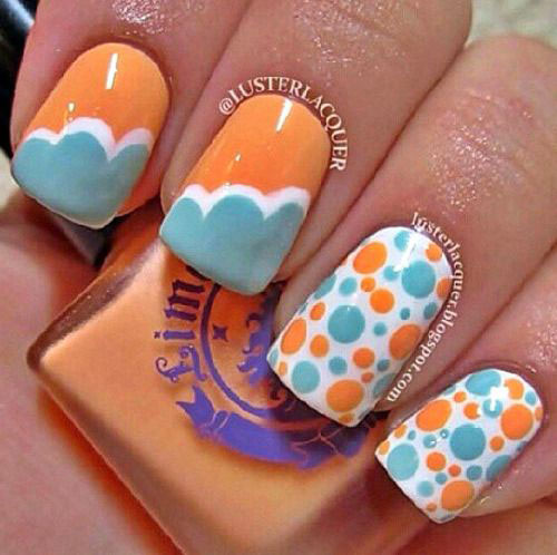 Adorable Nail Art: 20 Easy & Cute Summer Nail Art Designs & Ideas 2016