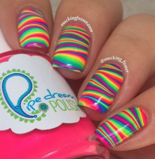 20 Easy & Cute Summer Nail Art Designs & Ideas 2016 ...