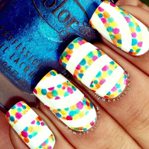 20 Easy Amp Cute Summer Nail Art Designs Amp Ideas 2016 Summer Nails Fabulous Nail Art Designs