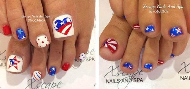 15 + Cute Polka Dot French Nail Art Designs, Ideas