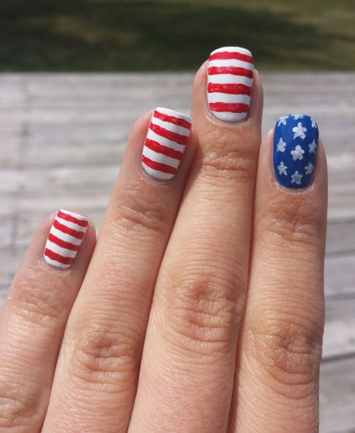 12-4th-of-July-American-Flag-Nail-Art-Designs-Ideas-2016-Fourth-of-July-Nails-2016-1