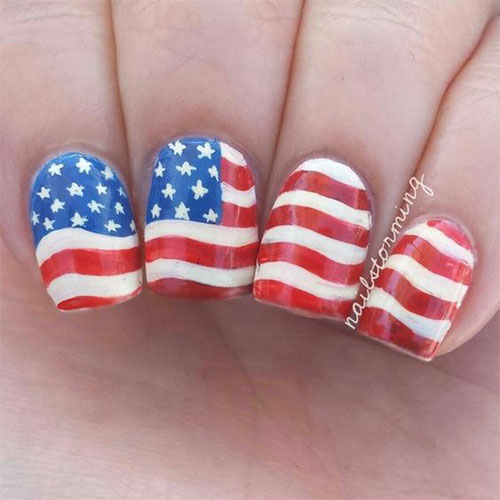 12-4th-of-July-American-Flag-Nail-Art-Designs-Ideas-2016-Fourth-of-July-Nails-2016-10