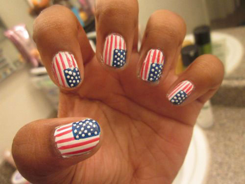 12-4th-of-July-American-Flag-Nail-Art-Designs-Ideas-2016-Fourth-of-July-Nails-2016-11