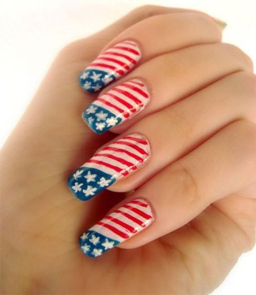 12-4th-of-July-American-Flag-Nail-Art-Designs-Ideas-2016-Fourth-of-July-Nails-2016-4