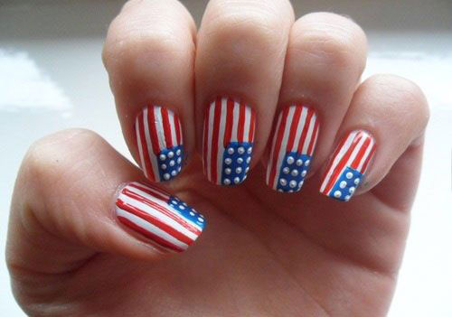 12-4th-of-July-American-Flag-Nail-Art-Designs-Ideas-2016-Fourth-of-July-Nails-2016-5