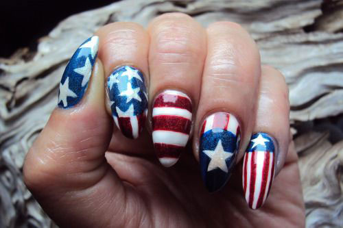 12-4th-of-July-American-Flag-Nail-Art-Designs-Ideas-2016-Fourth-of-July-Nails-2016-6
