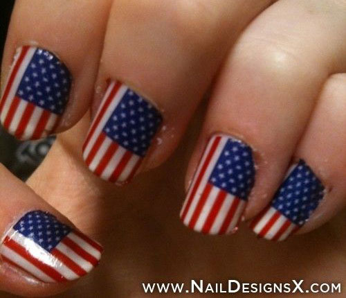 12-4th-of-July-American-Flag-Nail-Art-Designs-Ideas-2016-Fourth-of-July-Nails-2016-7
