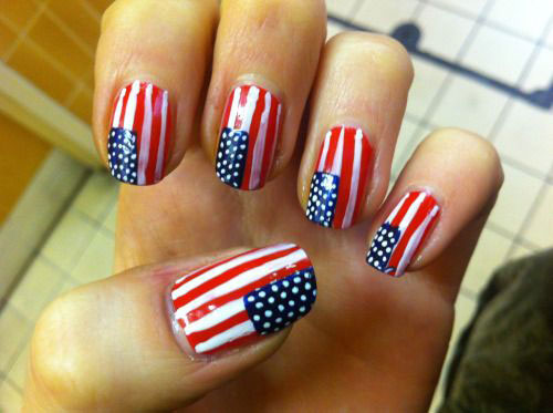 12-4th-of-July-American-Flag-Nail-Art-Designs-Ideas-2016-Fourth-of-July-Nails-2016-8