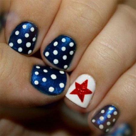 15 Cute Simple 4th Of July Nail Art Designs Ideas 2016 Fourth