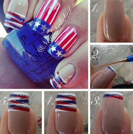 15-Easy-Simple-4th-of-July-Nail-Art-Tutorials-For-Learners-2016-1