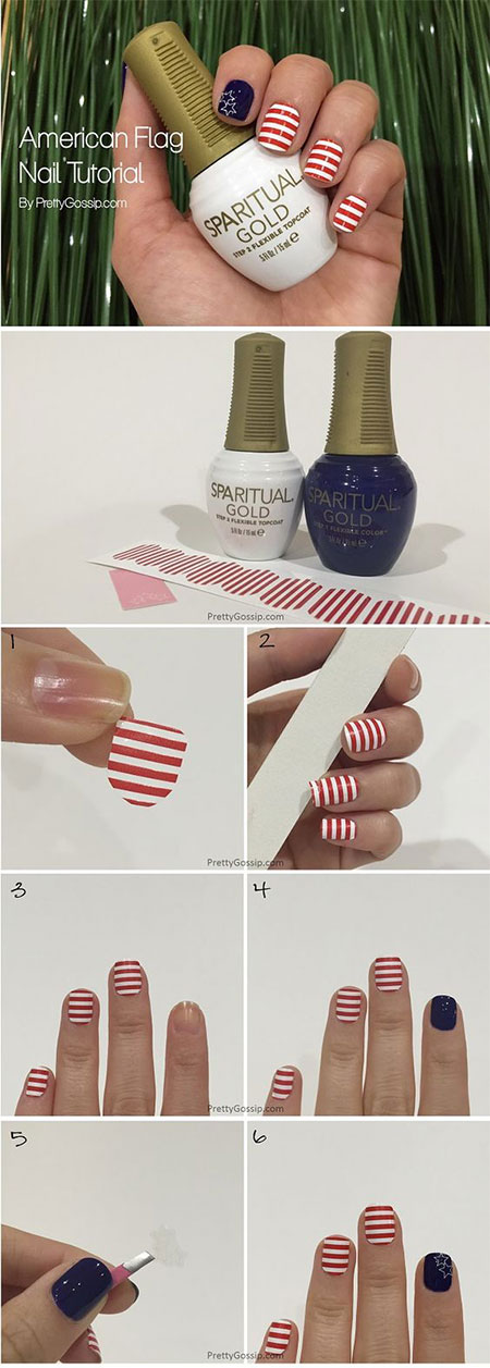 15-Easy-Simple-4th-of-July-Nail-Art-Tutorials-For-Learners-2016-12