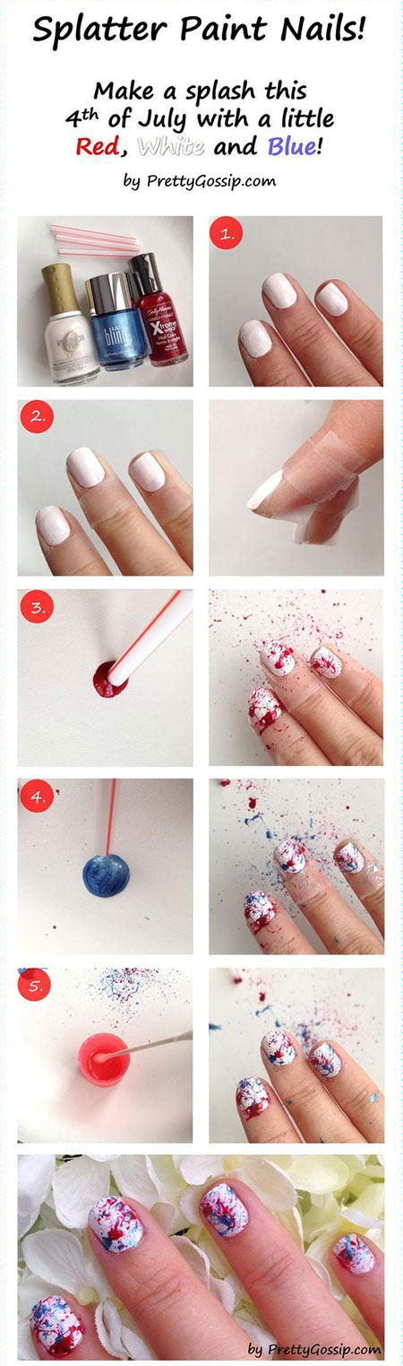 15-Easy-Simple-4th-of-July-Nail-Art-Tutorials-For-Learners-2016-13