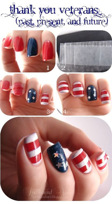 15-Easy-Simple-4th-of-July-Nail-Art-Tutorials-For-Learners-2016-3
