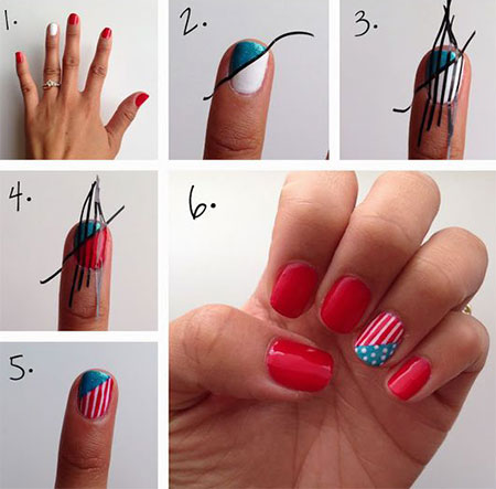 15-Easy-Simple-4th-of-July-Nail-Art-Tutorials-For-Learners-2016-6
