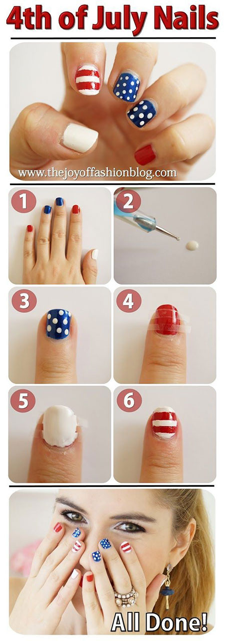 15-Easy-Simple-4th-of-July-Nail-Art-Tutorials-For-Learners-2016-8