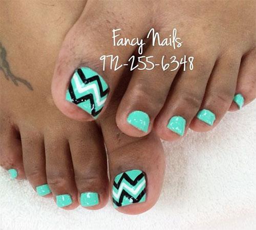 15-Summer-Toe-Nail-Art-Designs-Ideas-2016- - 15+ Summer Toe Nail Art Designs & Ideas 2016 Fabulous Nail Art Designs