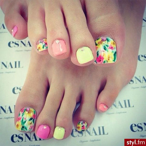15 summer toe nail art designs amp ideas 2016 fabulous