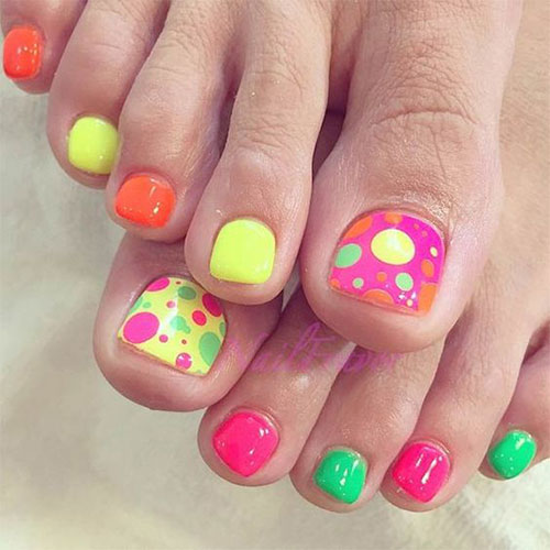 15+ Summer Toe Nail Art Designs & Ideas 2016