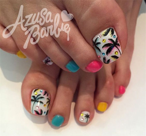 15 Summer Toe Nail Art Designs Ideas 2016 Fabulous Nail Art Designs