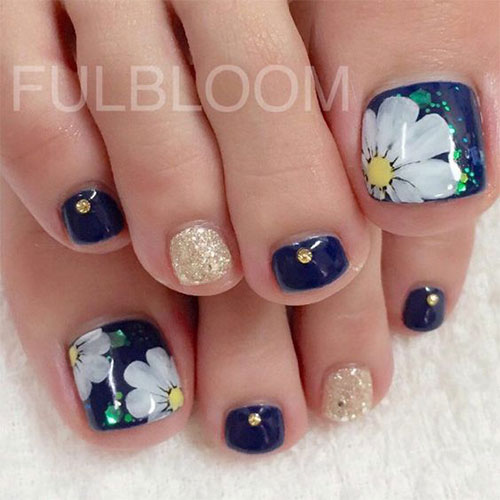 15 Summer Toe Nail Art Designs Ideas 2016 Fabulous - Summer Toe Nail Art 2016 - Best Nails 2018