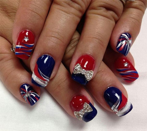 18-Awesome-4th-of-July-Fireworks-Nail-Art-Designs-2016-Fourth-of-July-Nails-1