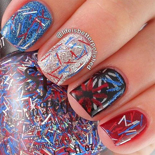 18-Awesome-4th-of-July-Fireworks-Nail-Art-Designs-2016-Fourth-of-July-Nails-5