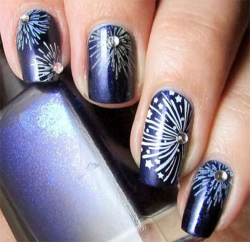 18-Awesome-4th-of-July-Fireworks-Nail-Art-Designs-2016-Fourth-of-July-Nails-6
