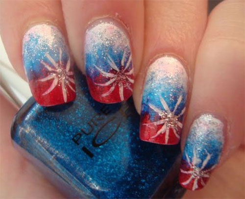 18-Awesome-4th-of-July-Fireworks-Nail-Art-Designs-2016-Fourth-of-July-Nails-7