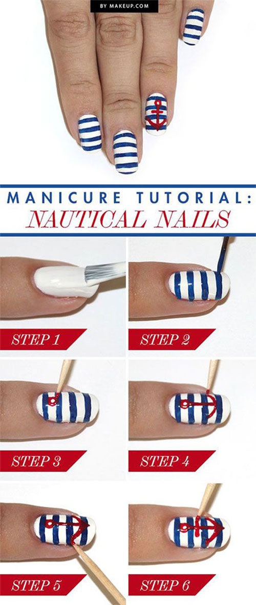 20-Easy-Step-By-Step-Summer-Nail-Art-Tutorials-For-Beginners-2016-1