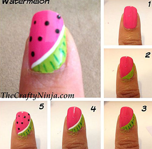 20-Easy-Step-By-Step-Summer-Nail-Art-Tutorials-For-Beginners-2016-15