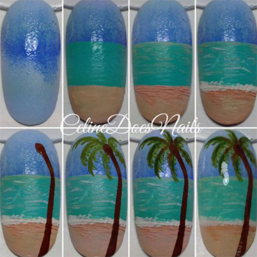 20-Easy-Step-By-Step-Summer-Nail-Art-Tutorials-For-Beginners-2016-18