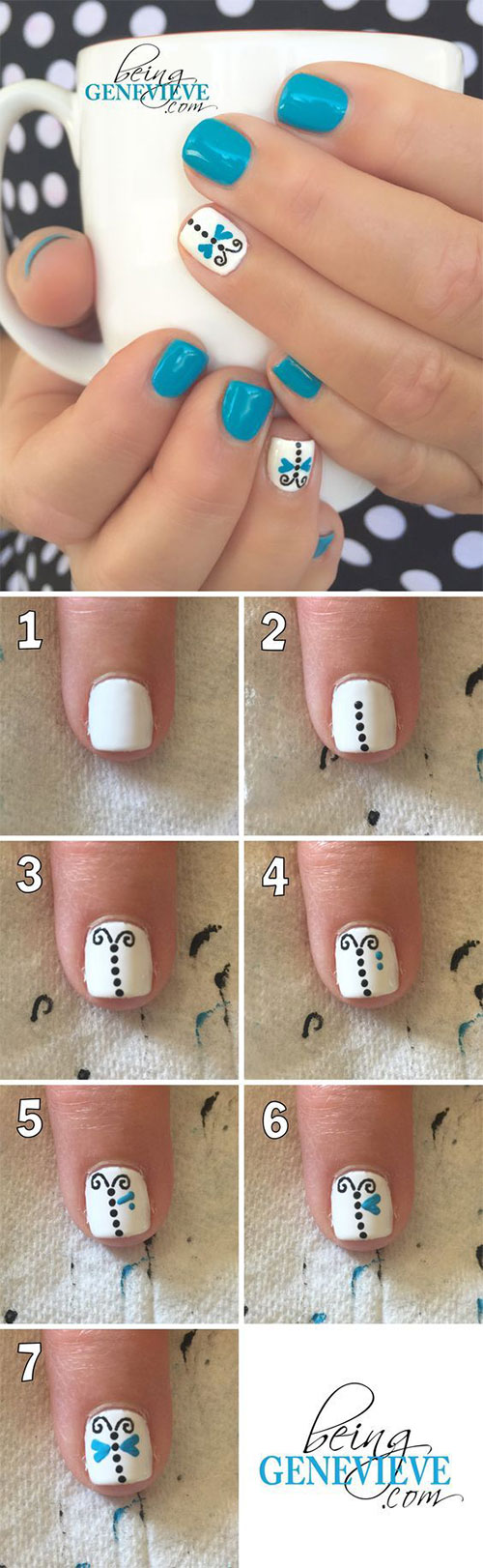20-Easy-Step-By-Step-Summer-Nail-Art-Tutorials-For-Beginners-2016-3