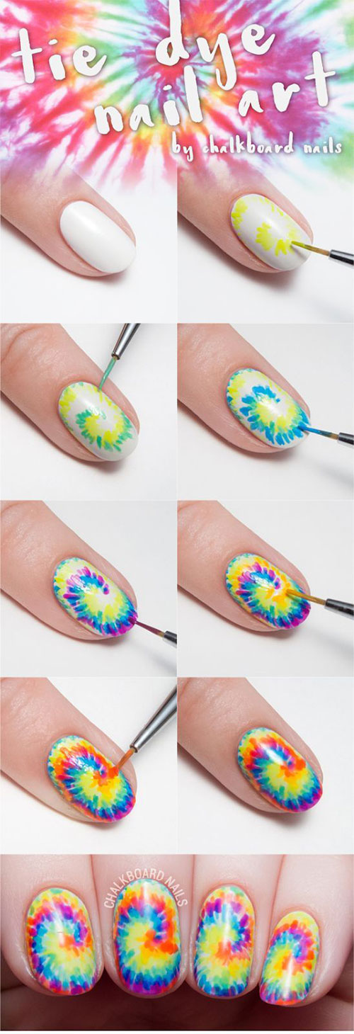 20-Easy-Step-By-Step-Summer-Nail-Art-Tutorials-For-Beginners-2016-4